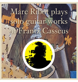 New Vinyl Marc Ribot - Plays Solo Guitar Works Of Frantz Casseus LP