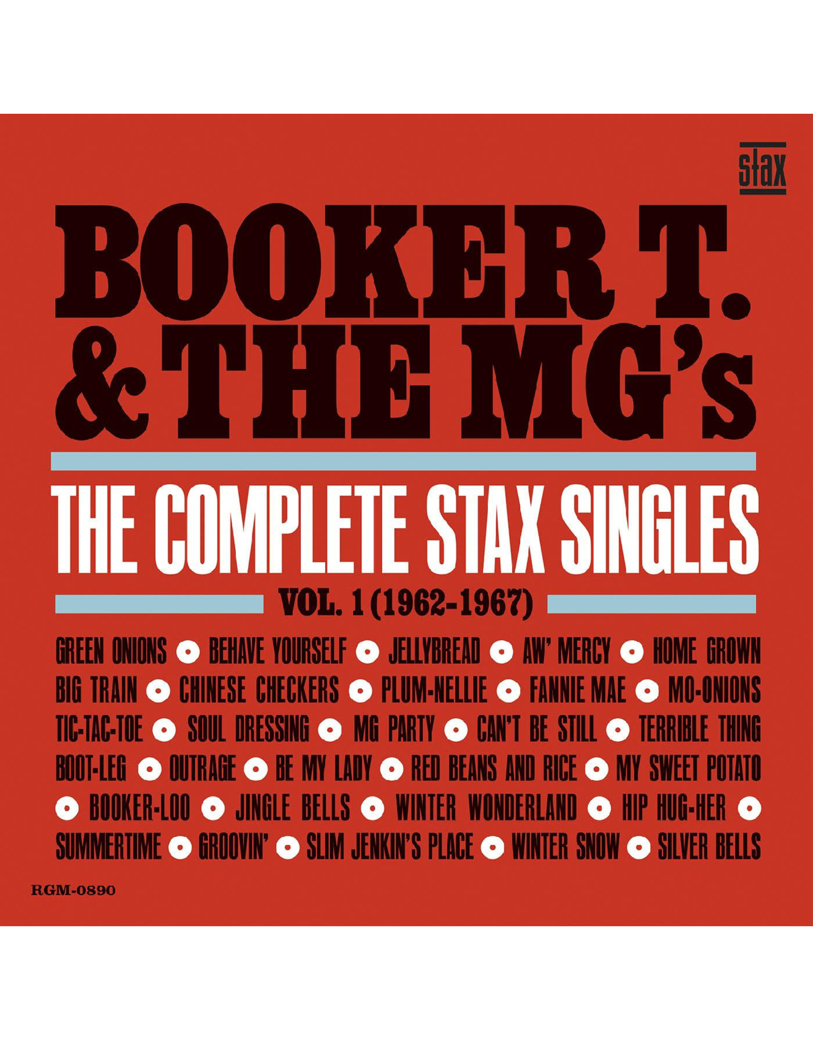 New Vinyl Booker T. & The MG's - The Complete Stax Singles Vol. 1: 1962-1967 (Colored) 2LP