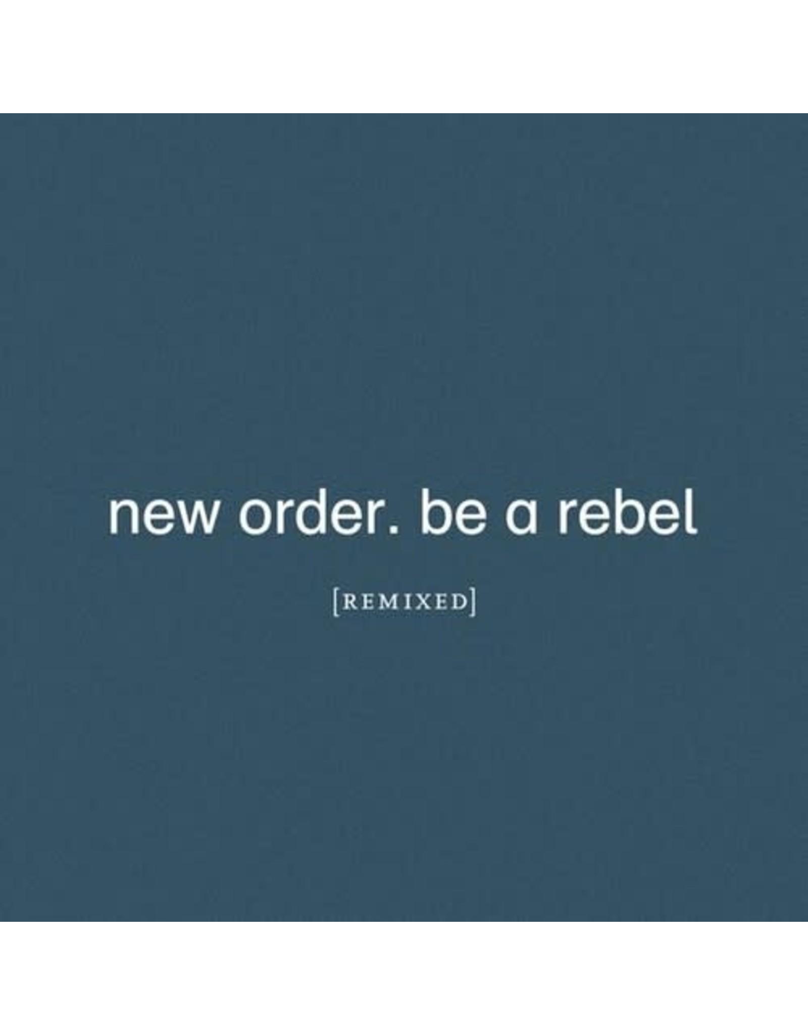 New Vinyl New Order - Be A Rebel Remixed (Clear) 2LP