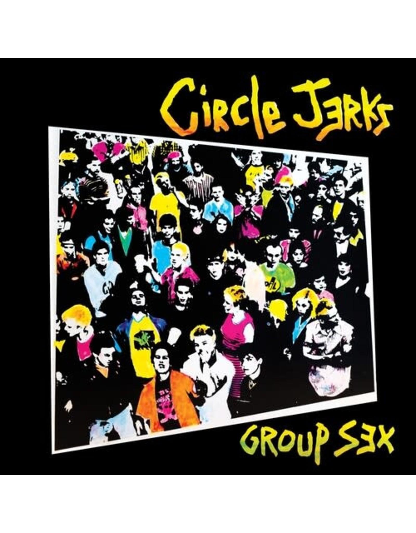 New Vinyl Circle Jerks - Group Sex (40th Anniversary) LP