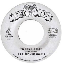 "New Vinyl AJ & The Jiggawatts - Wrong Step b/w Karma Is A Bitch (Gold) 7"""