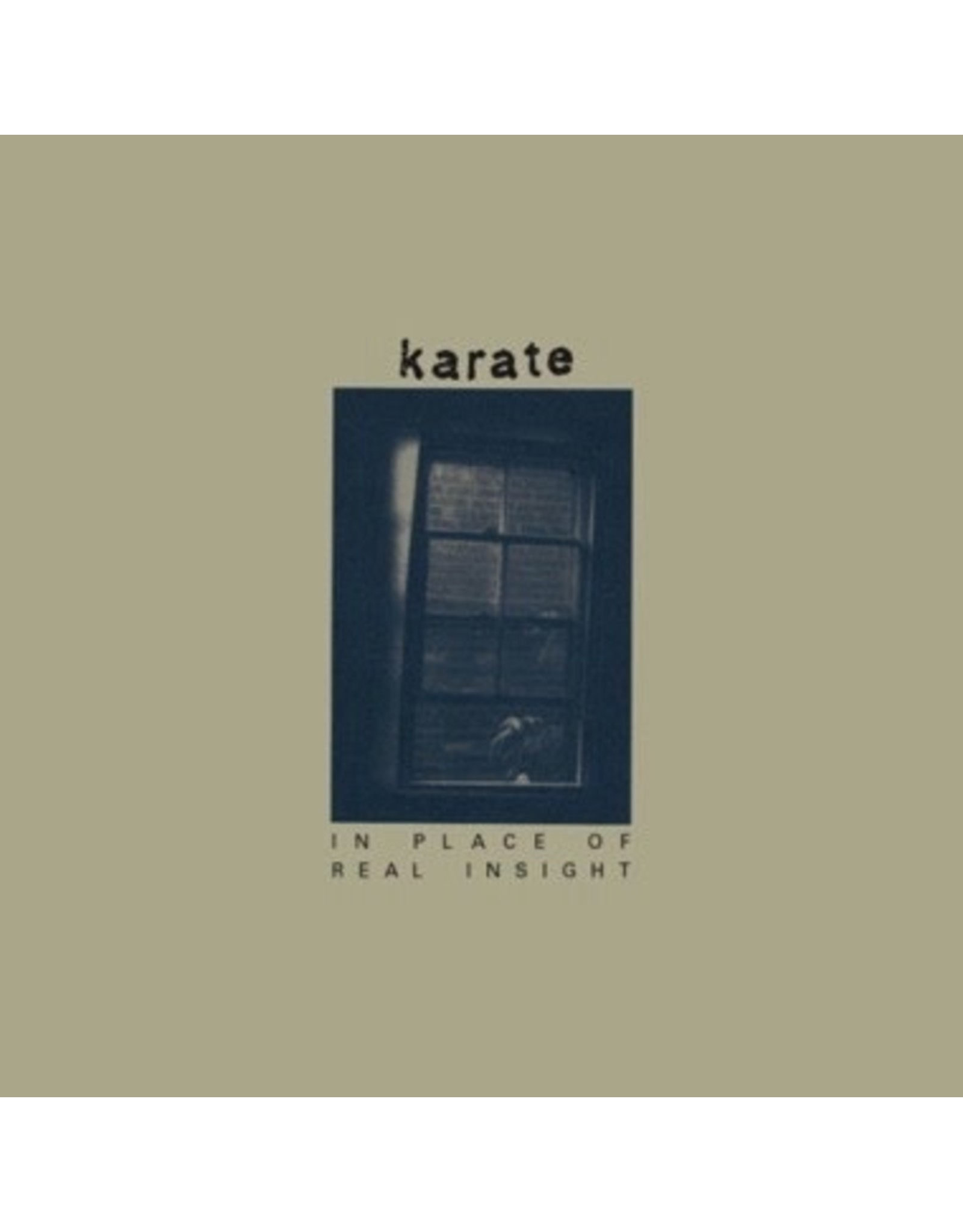 New Vinyl Karate - In Place Of Real Insight (Colored) LP