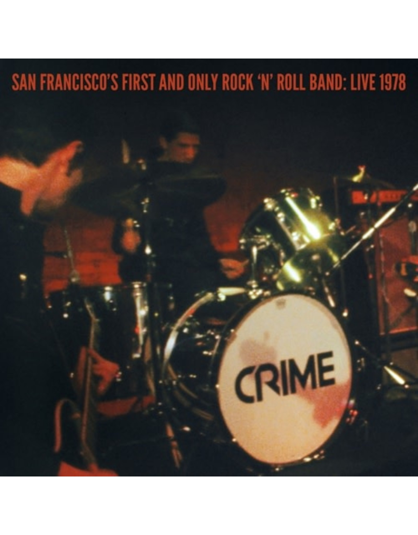 """New Vinyl CRIME - San Francisco's First And Only Rock 'N' Roll Band: Live 1978 2x7""""+DVD"""
