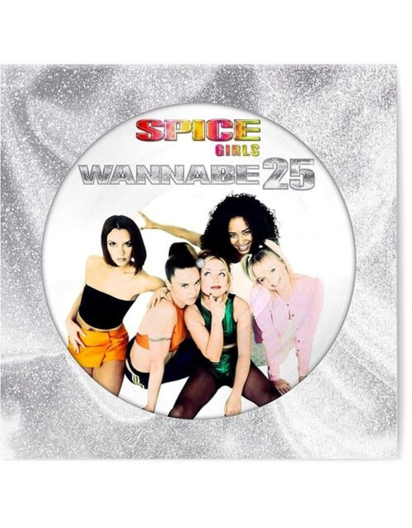 """New Vinyl Spice Girls - Wannabe 25 EP (Picture) 12"""""""