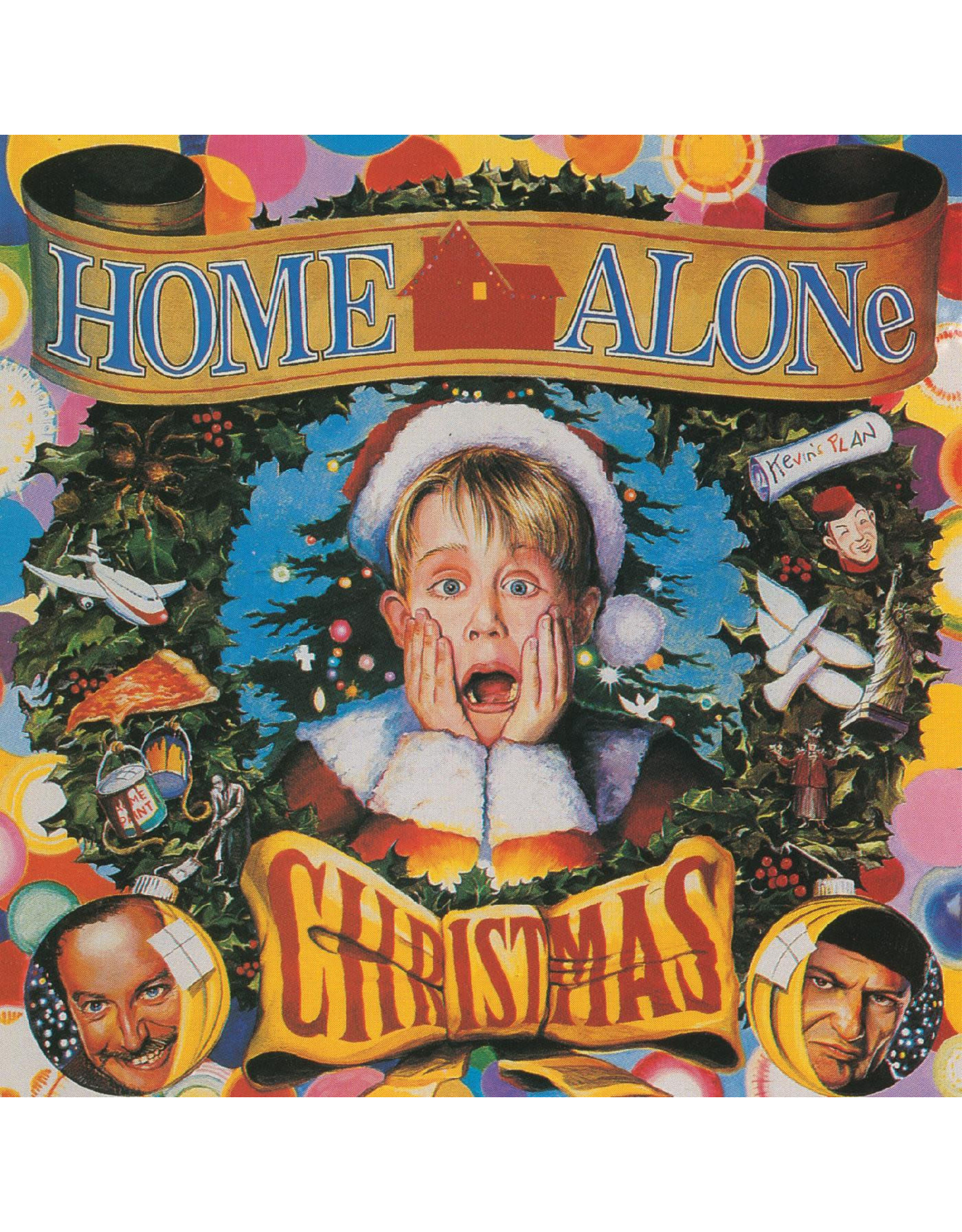 New Vinyl Various - Home Alone Christmas (Colored) LP