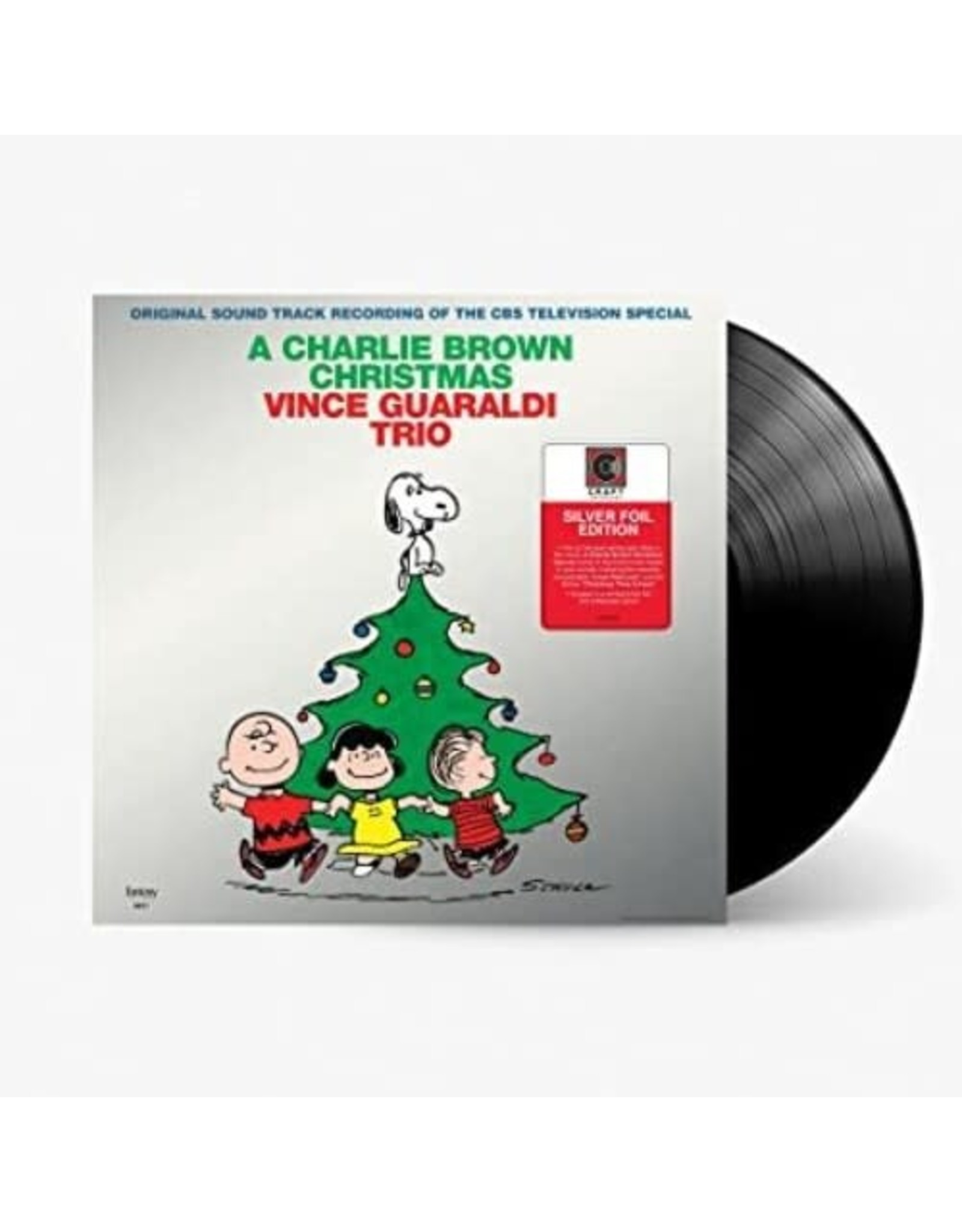 New Vinyl Vince Guaraldi Trio - A Charlie Brown Christmas: 2021 Edition (Silver Foil Cover) LP