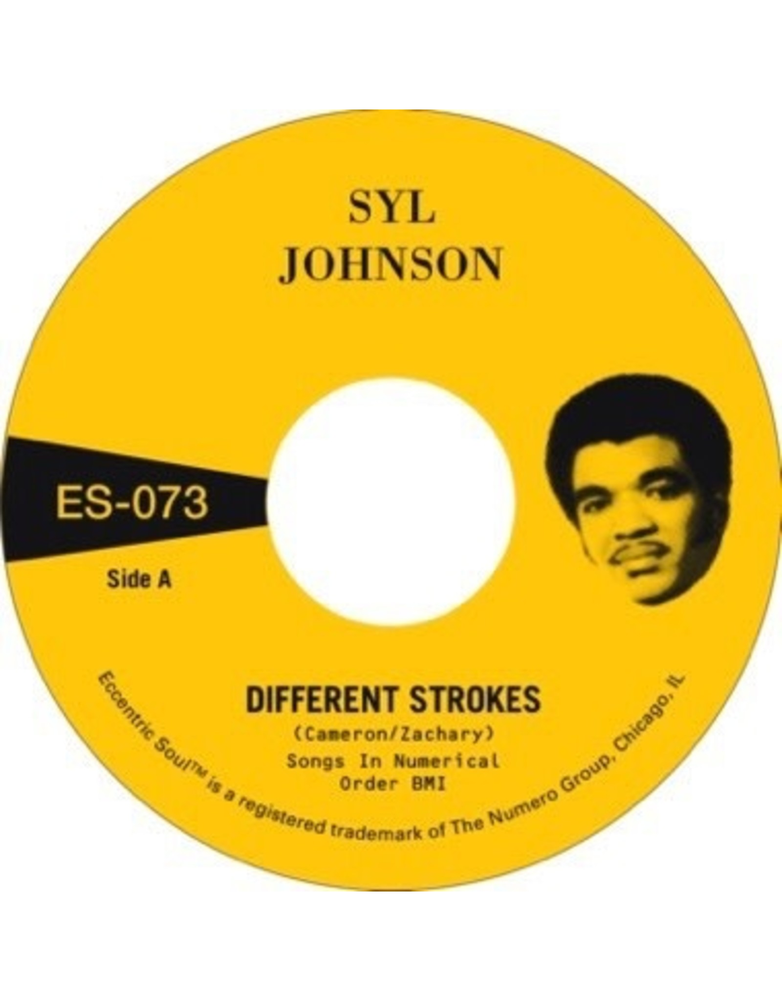 """New Vinyl Syl Johnson - Different Strokes b/w Is It Because I'm Black (Gold) 7"""""""