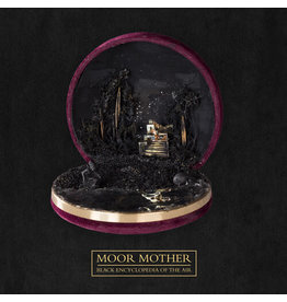 New Vinyl Moor Mother - Black Encyclopedia Of The Air (IEX, Seaglass Wave Translucent) LP