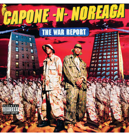 New Vinyl Capone -N- Noreaga - The War Report (Clear w/ Red & Blue Splatter) 2LP