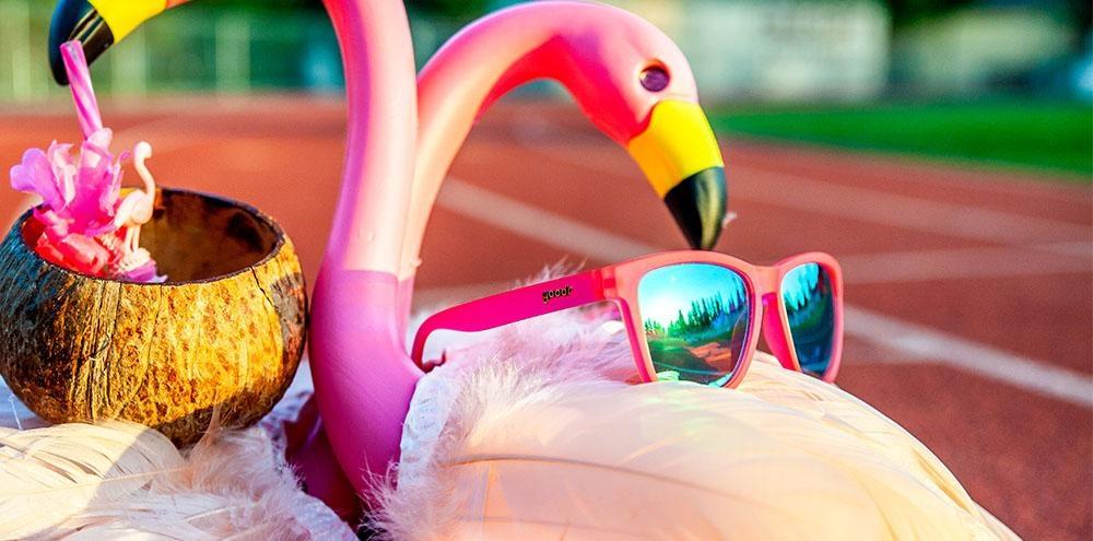 OG Goodr - Flamingos on a Booze Cruise