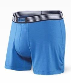 Saxx Ultra Free Agent Boxer - Pure Blue