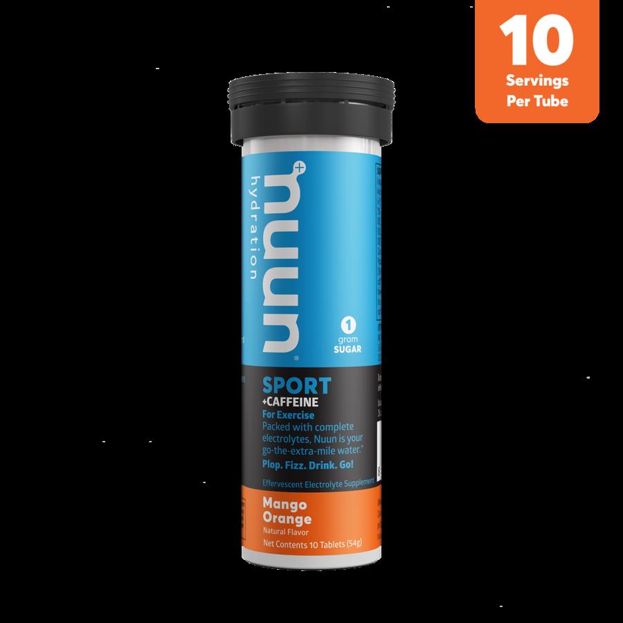 Nuun Sport - Mango Orange + Caffeine