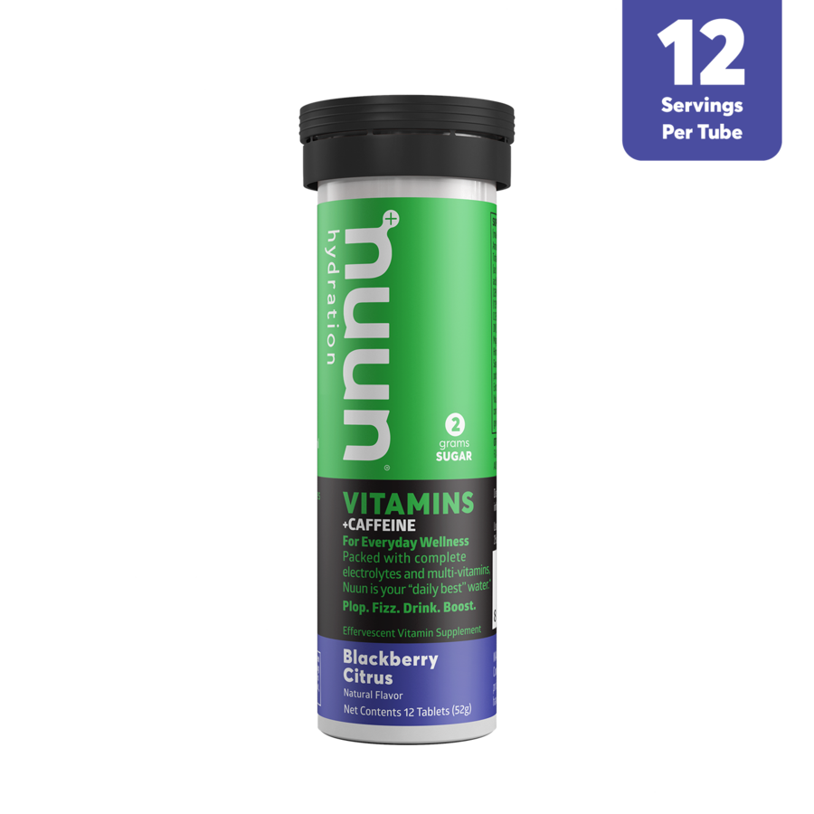 Nuun Vitamins - Blackberry Citrus + Caffeine