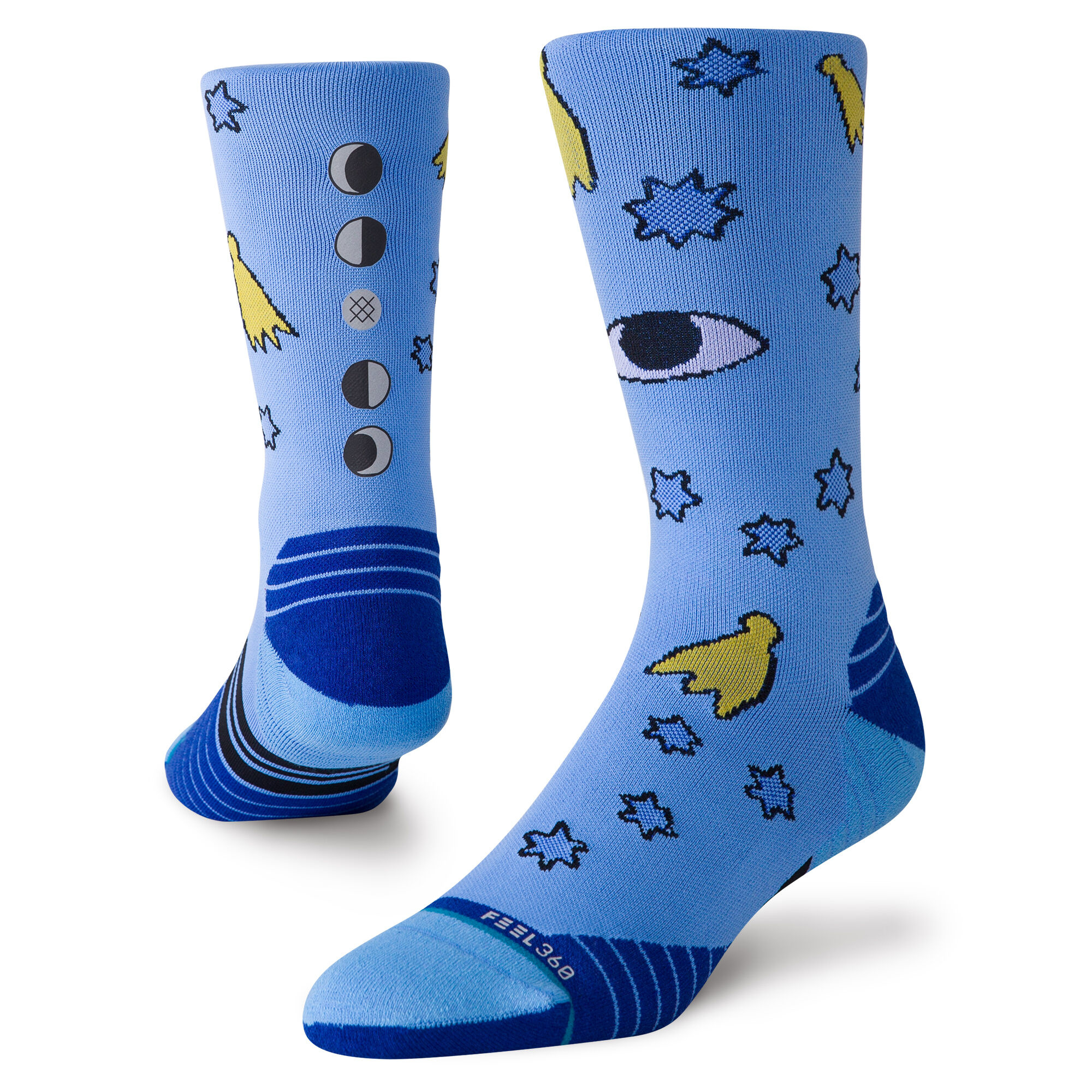 L New Stance Cavolo Moons Socks