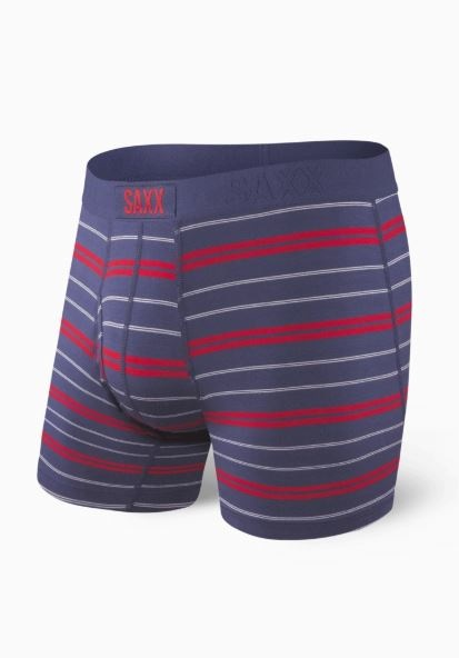 Saxx Ultra Boxer Brief - Navy Summit Stripe