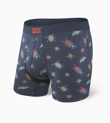 Saxx Ultra Boxer Brief - Navy Buggin