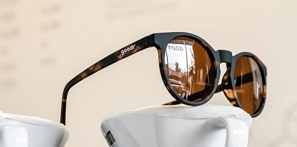 Circle G Goodr Running Sunglasses - Nine Dollar Pour Over