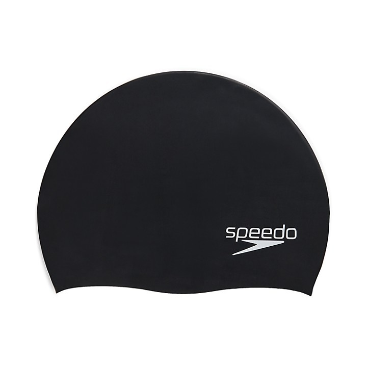 Speedo Solid Silicone Swim Cap