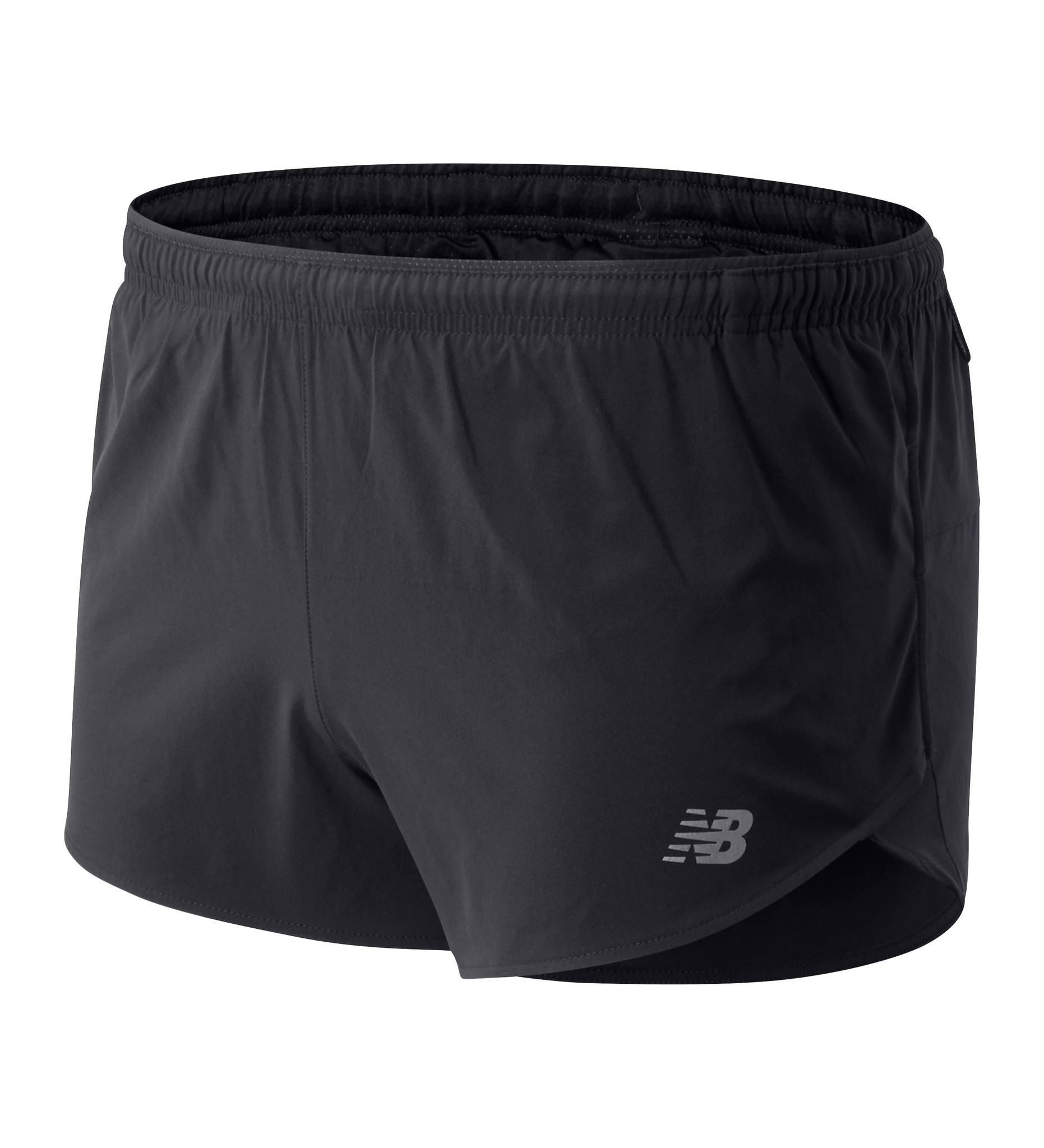 "New Balance Men's Impact Run 3"" Split Short"