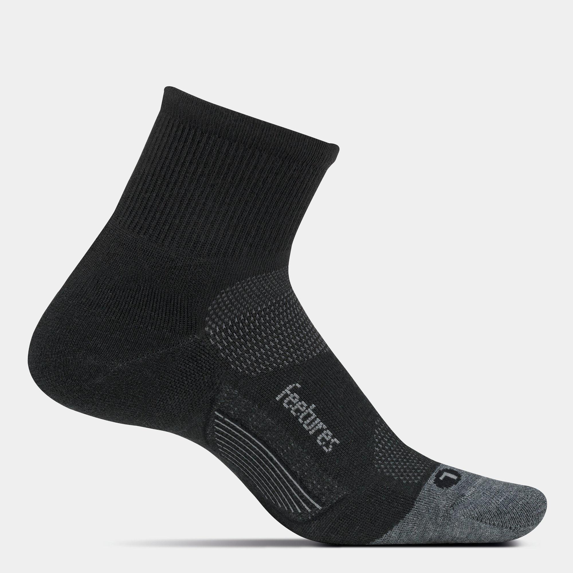 Feetures Merino10 Cushion - Quarter