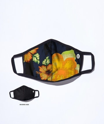 Stance Face Mask - Hibiscus Smear