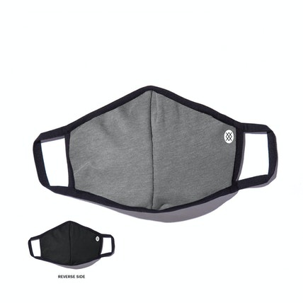 Stance Face Mask - Solid Grey