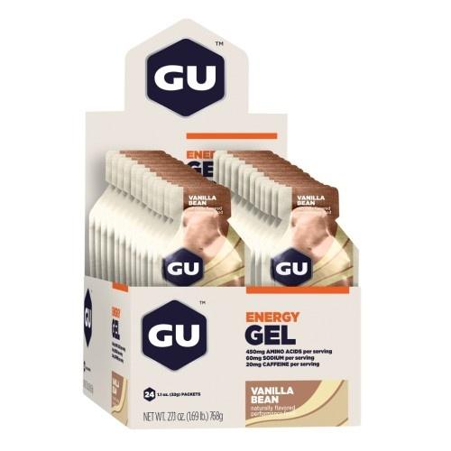 Gu Gel Case (24) - Vanilla Bean