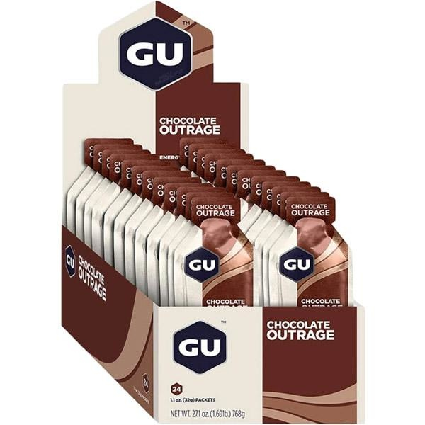 Gu Gel Case (24) - Chocolate Outrage