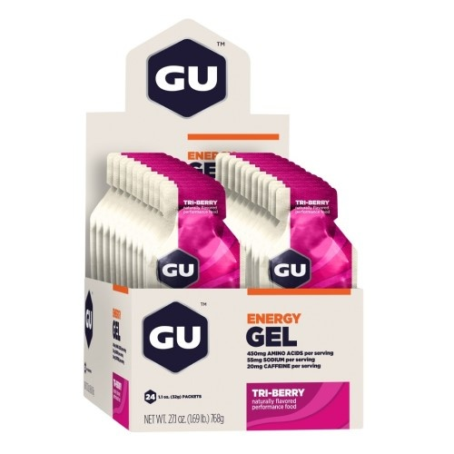 Gu Gel Case (24) - Tri-Berry