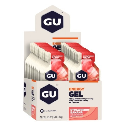 Gu Gel  Case (24) - Strawberry Banana