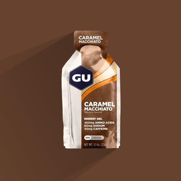 Gu Gel 6-Pack - Caramel Macchiato