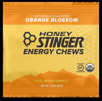 Honey Stinger Energy Chews 4-Pack - Orange Blossom