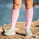 Compressport Compression Run Full Socks - Pink