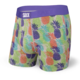 Saxx Ultra Boxer Brief Fly - Multi CMYK Pineapple