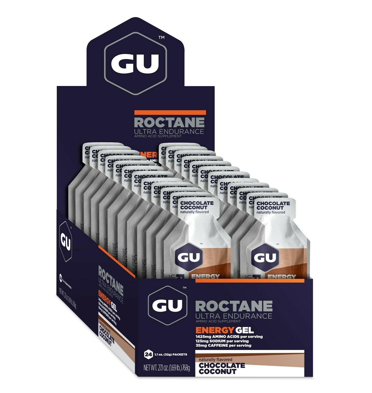 GU Roctane Gel Case (24) - Chocolate Coconut