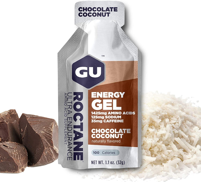GU Roctane Gel 6-Pack - Chocolate Coconut