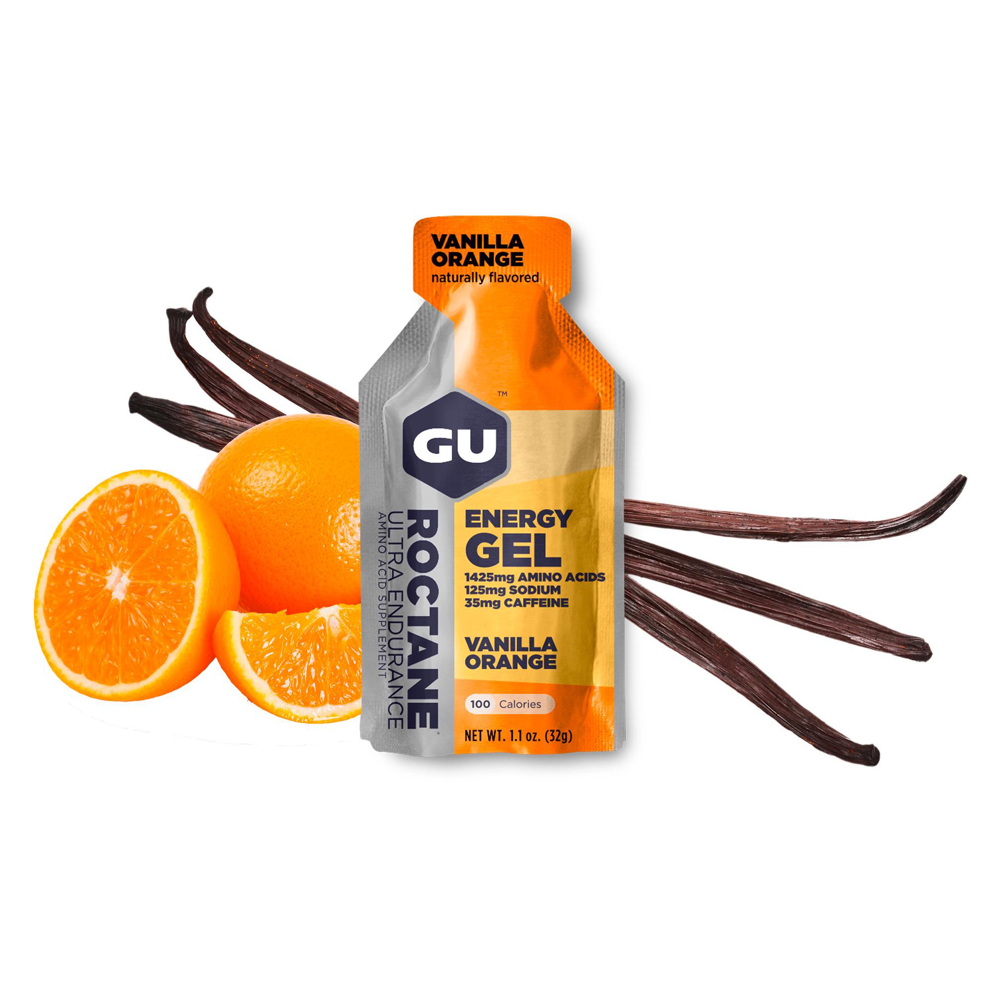 GU Roctane Gel 6-Pack - Vanilla Orange