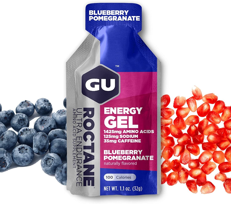 Gu Roctane Gel 6-Pack - Blueberry Pomegranate