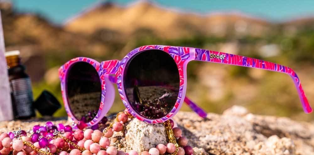 Circle G Goodr Running Sunglasses - Kunzite Compels You