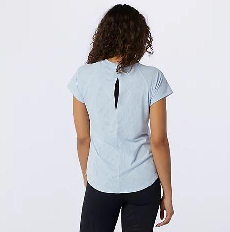 New Balance Women's Q Speed Fuel Jacquard Short Sleeve