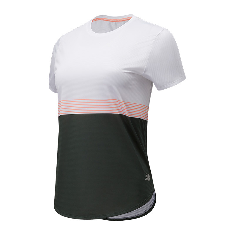 New Balance Women's Printed Accelerate Short Sleeve