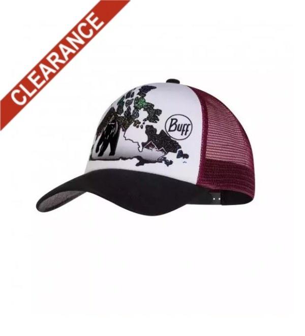 Buff Trucker Hat - Home Range Multi
