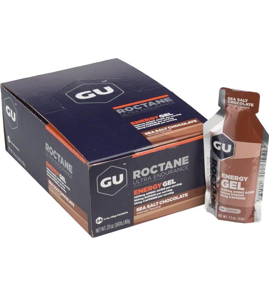 Gu Roctane Gel Case (24) - Sea Salt Chocolate