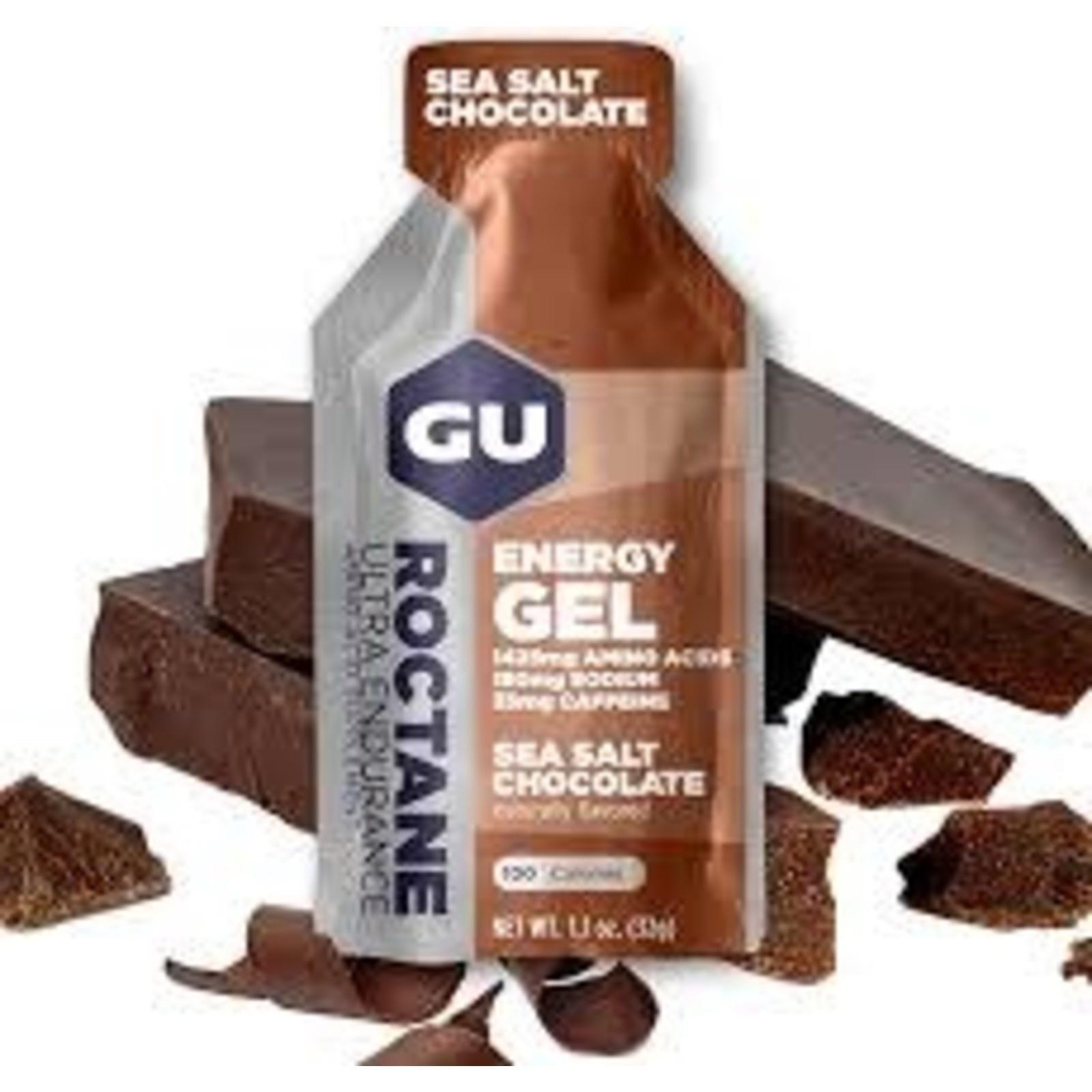 Gu Roctane Gel 6-Pack - Sea Salt Chocolate