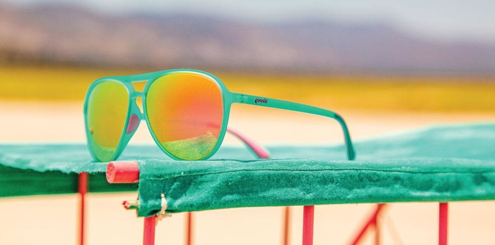 Mach G Goodr Running Sunglasses - Kitty Hawker's Ray Blockers