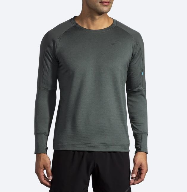 Brooks Men's Notch Thermal Long Sleeve