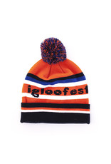 Orange, Blue and Black Vintage Tuque | 2019 Collection