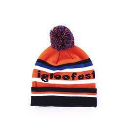 Tuque Vintage Orange, Bleue et Noire | Collection 2019