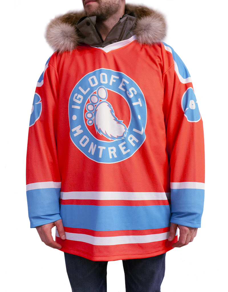 Chandail de Hockey Rouge Grenadine | Collection 2020