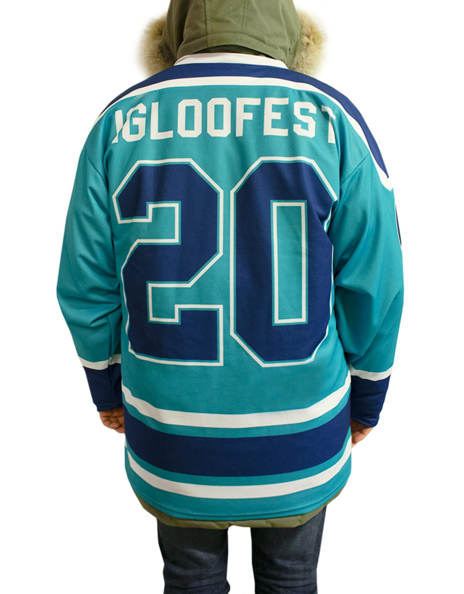 Turquoise Hockey Sweater | 2020 Collection